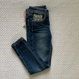 Imperial Star Denim Lace Jeans Girls